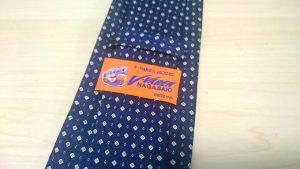 ネクタイのタグ