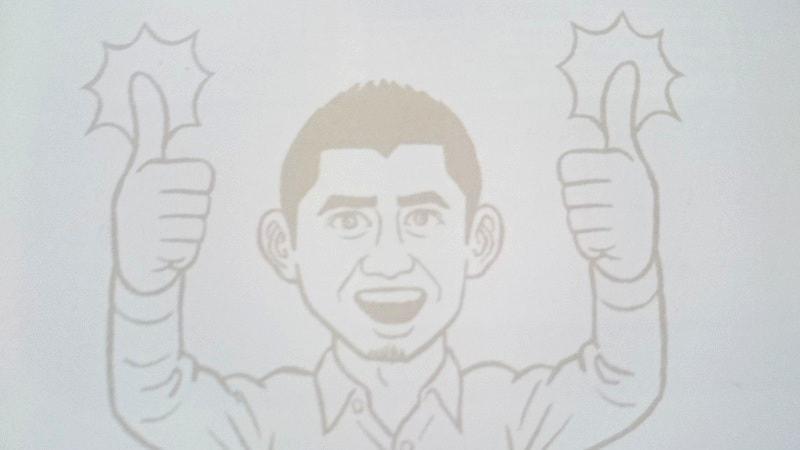 【画像】謎のおじさんのイラスト