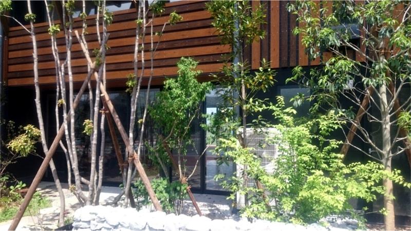 V・ファーレン長崎クラブハウス大きな窓ガラス