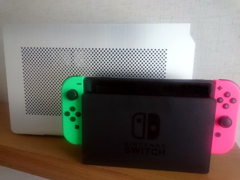 DAN Cases A4-SFXとNintendo Switch