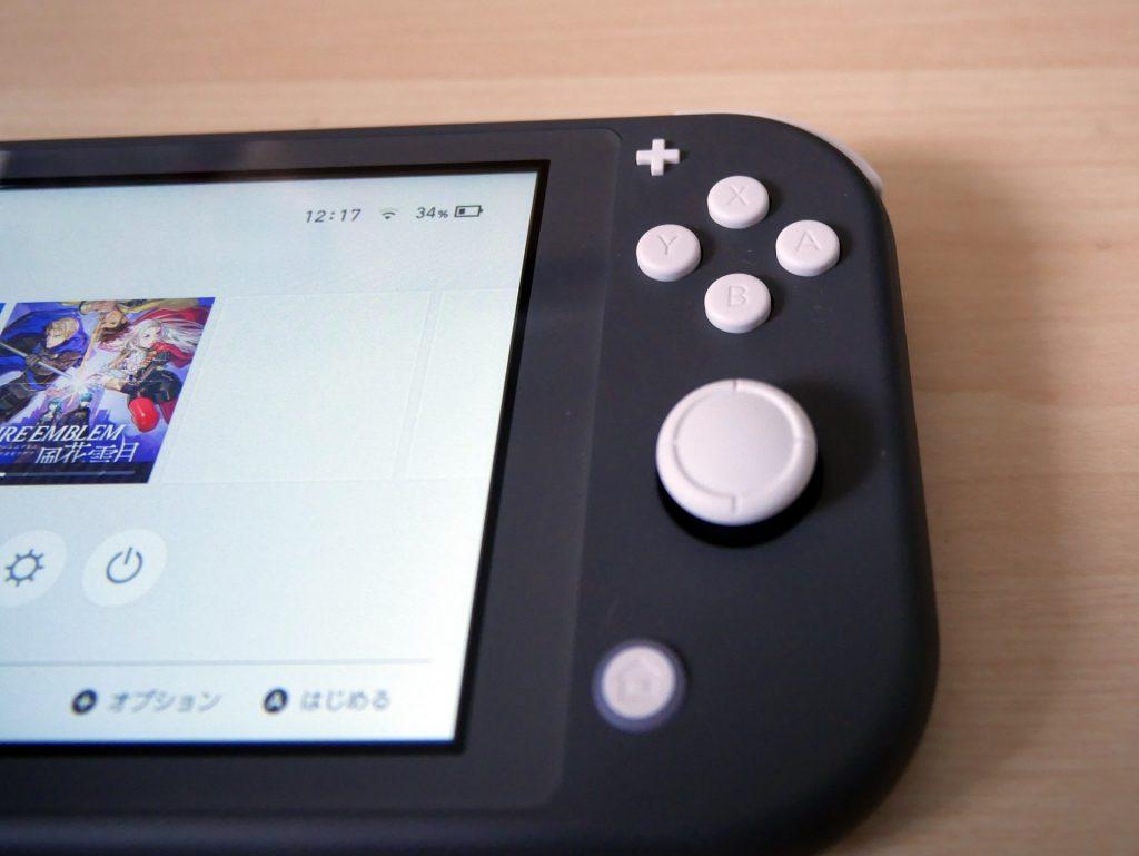 Nintendo Switch Liteボタン